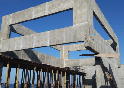 Concrete Frame for House