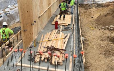 University of West Florida Bldg 40 Vault – Project in progress
